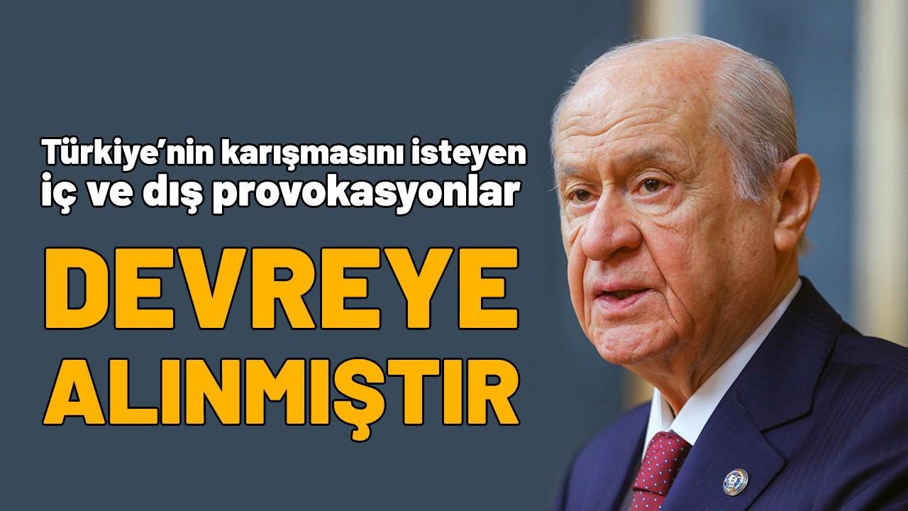 MHP Lideri Bahçeli, İzmir'deki HDP saldırısını değerlendirdi: Provokasyon