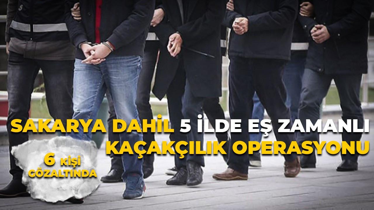 5 İlde silah kaçakçılığı operasyonu