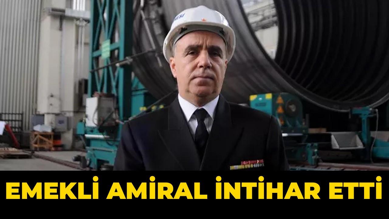 Emekli amiral intihar etti