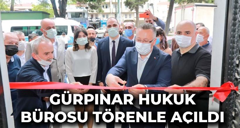Gürpınar Hukuk Bürosu törenle açıldı