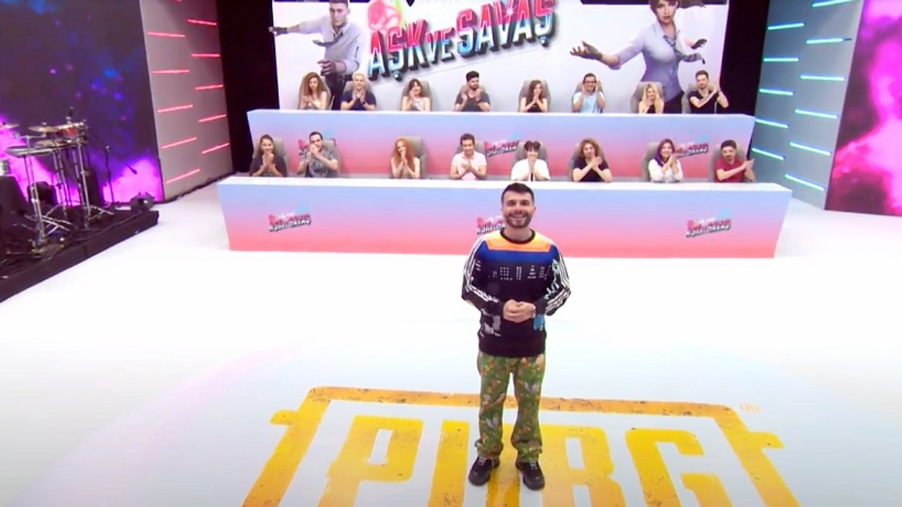 PUBG Mobile'ın yeni programı 'aşk ve savaş' bu akşam yayında