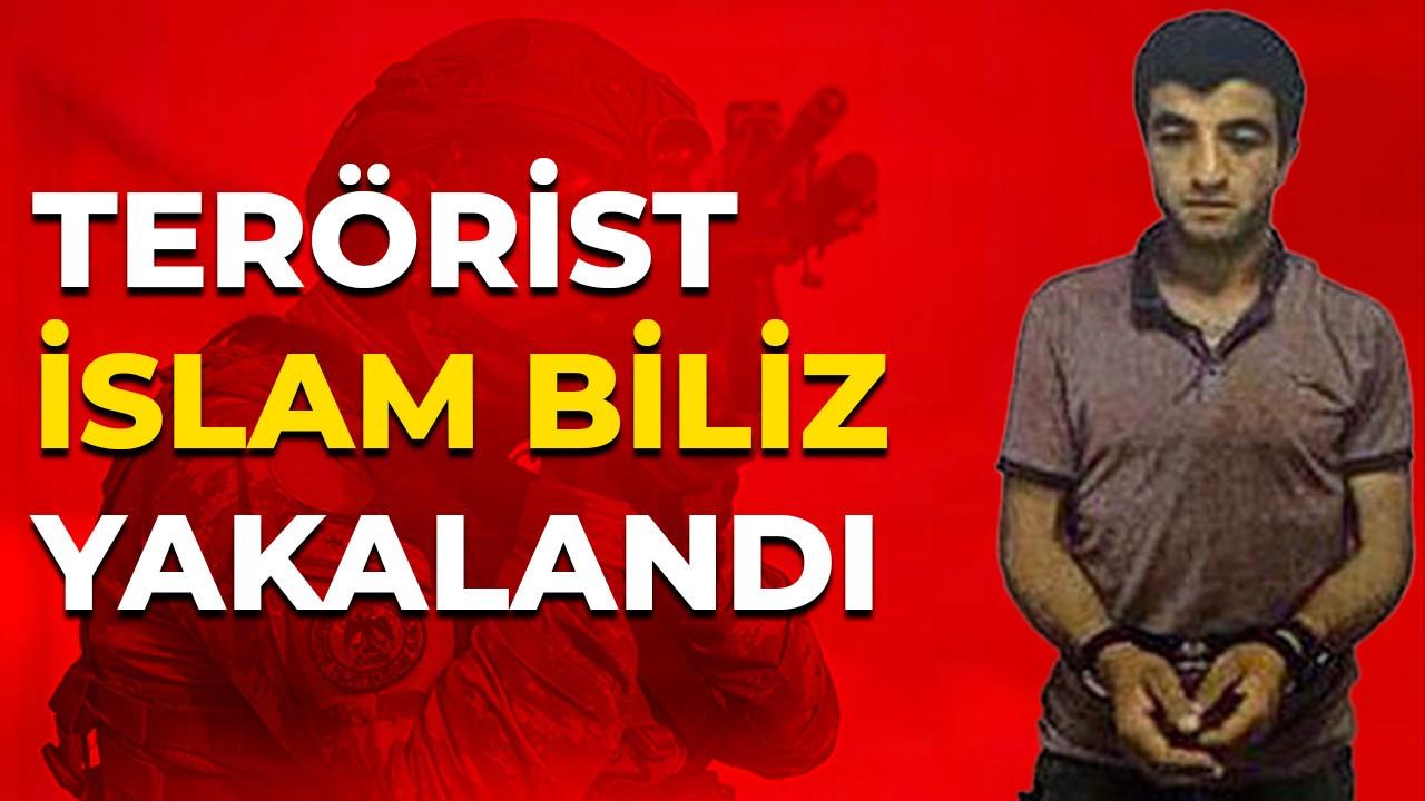 MİT ve Jandarma'dan flaş operasyon: Terörist İslam Biliz yakalandı