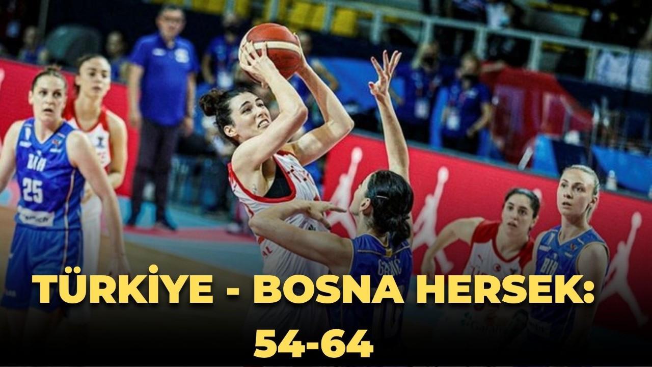 Türkiye - Bosna Hersek: 54-64