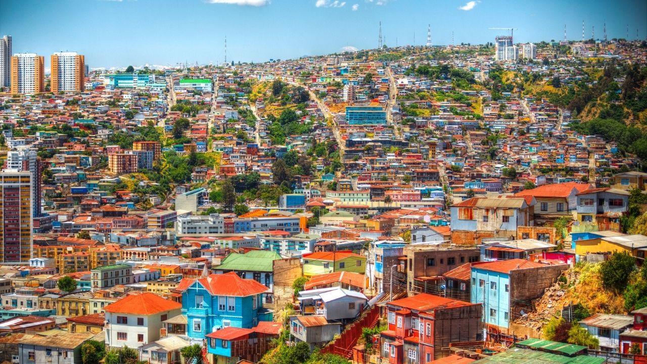 Şili'nin renkli şehri: Valparaiso - Sayfa 1