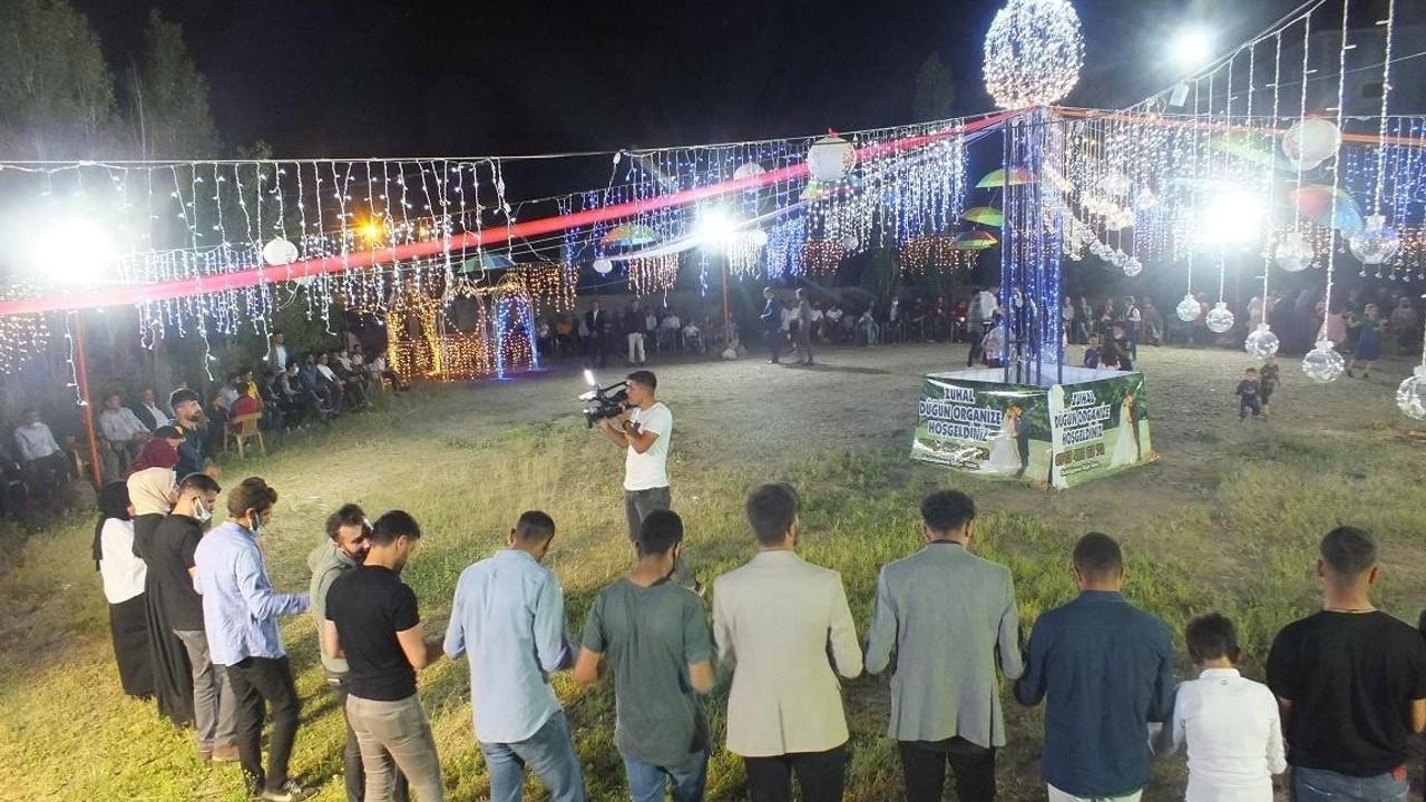 Malazgirt'te düğün sezonu açıldı