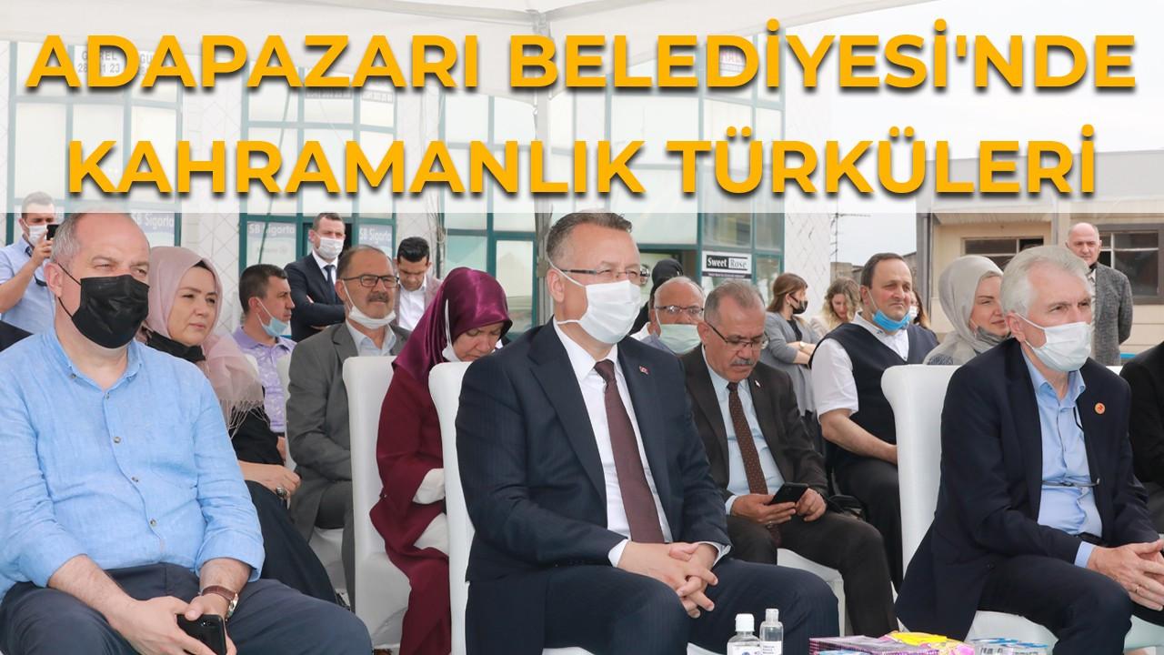 Adapazarı Belediyesi'nde Kahramanlık Türküleri