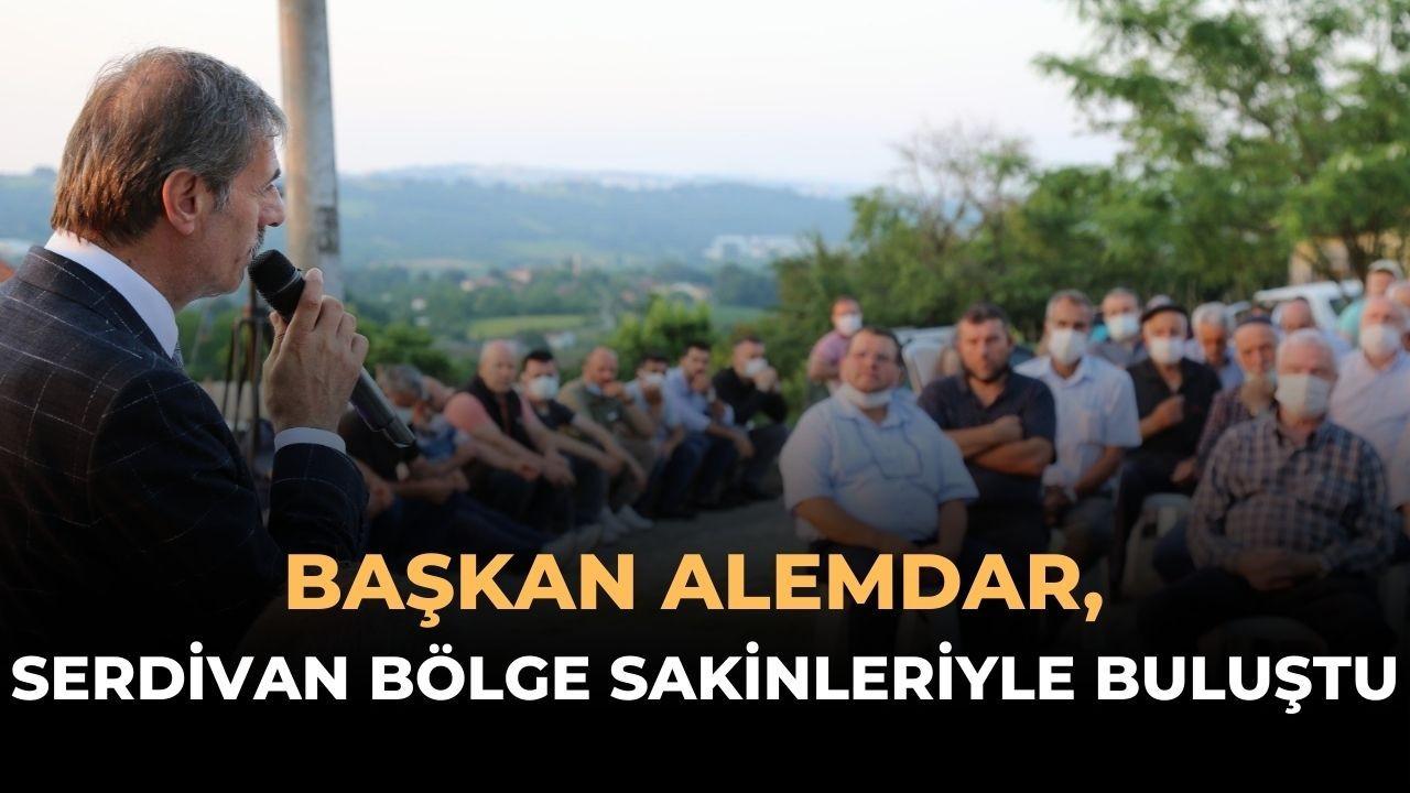 Başkan Alemdar'dan Serdivan Bölge Sakinleriyle Toplantı
