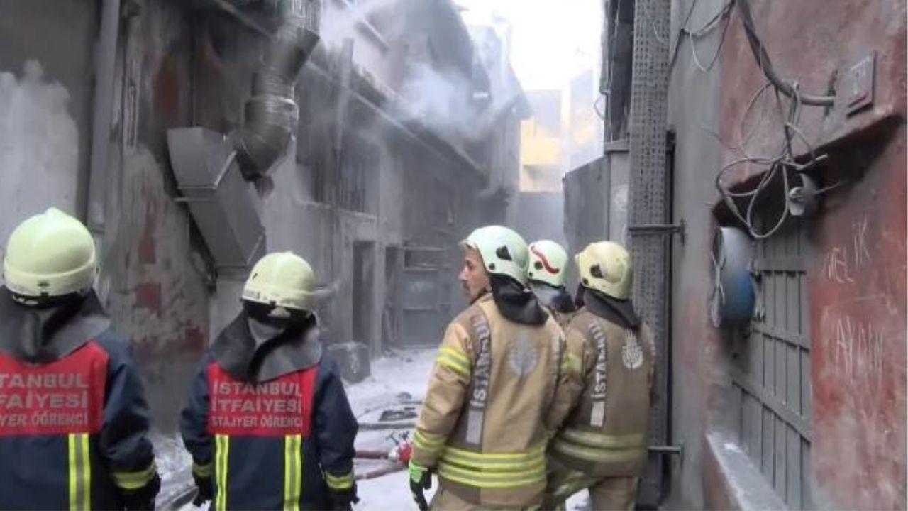 Bayrampaşa'da sanayi sitesinde patlama