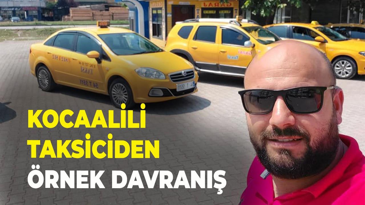 Kocaalili taksiciden örnek davranış
