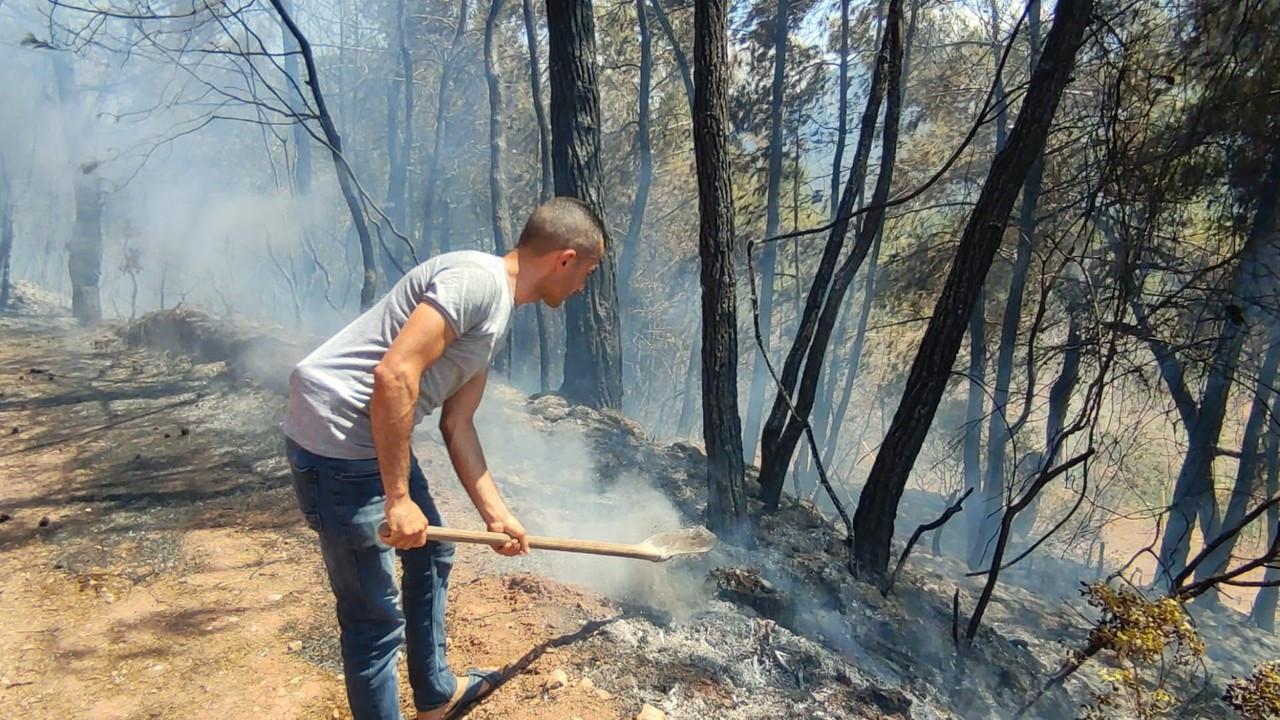 Osmaniye'de orman yangını; yerleşim yerleri tahliye edildi