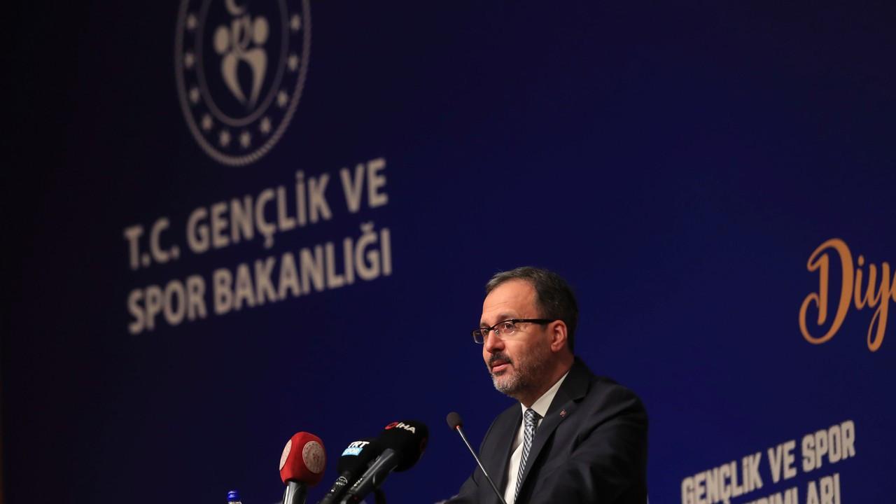 Gençlik ve Spor Bakanlığı'ndan Diyarbakır'a önemli yatırım