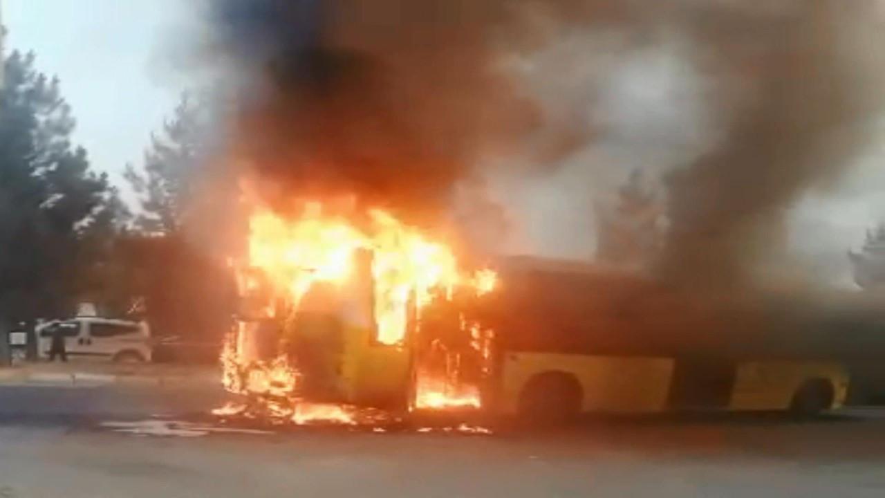 Otobüs şoförü faciayı önledi