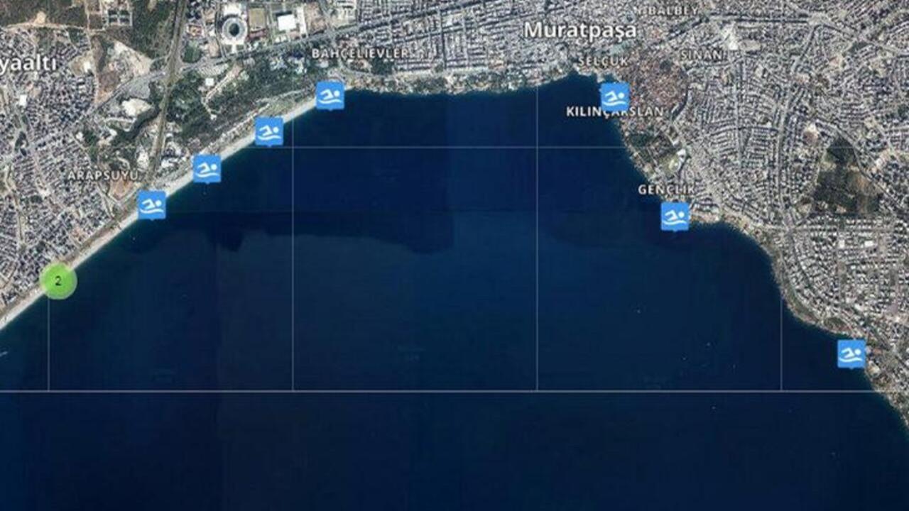 Türkiye'nin en 'mükemmel' denizi Antalya'da!