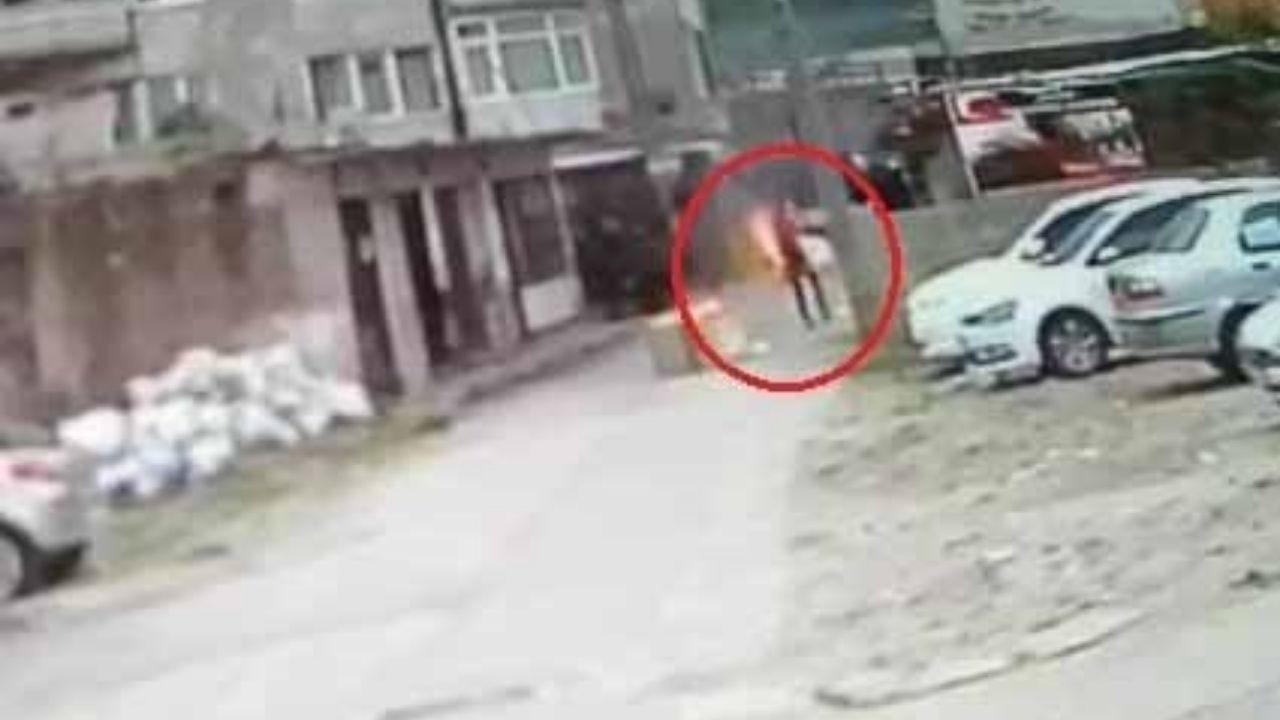 Hapisten çıktı, üzerine benzin döküp kendini yaktı