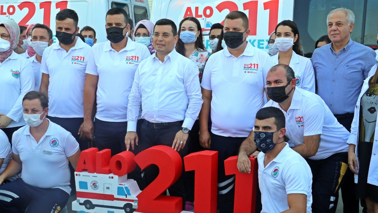 Türkiye'de bir ilk! 112 hayata, 211 evine kavuşturacak