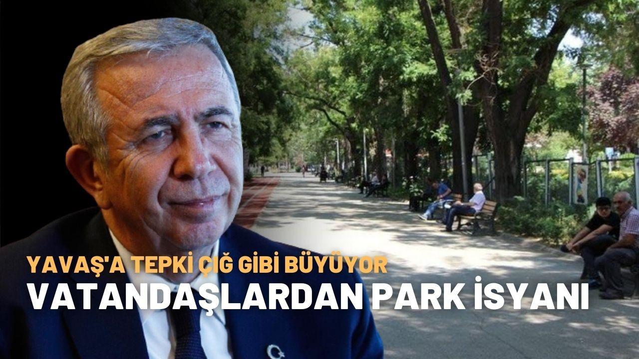Sosyal medyada kıyamet koptu: Vatandaşlardan Yavaş'a sert tepki!