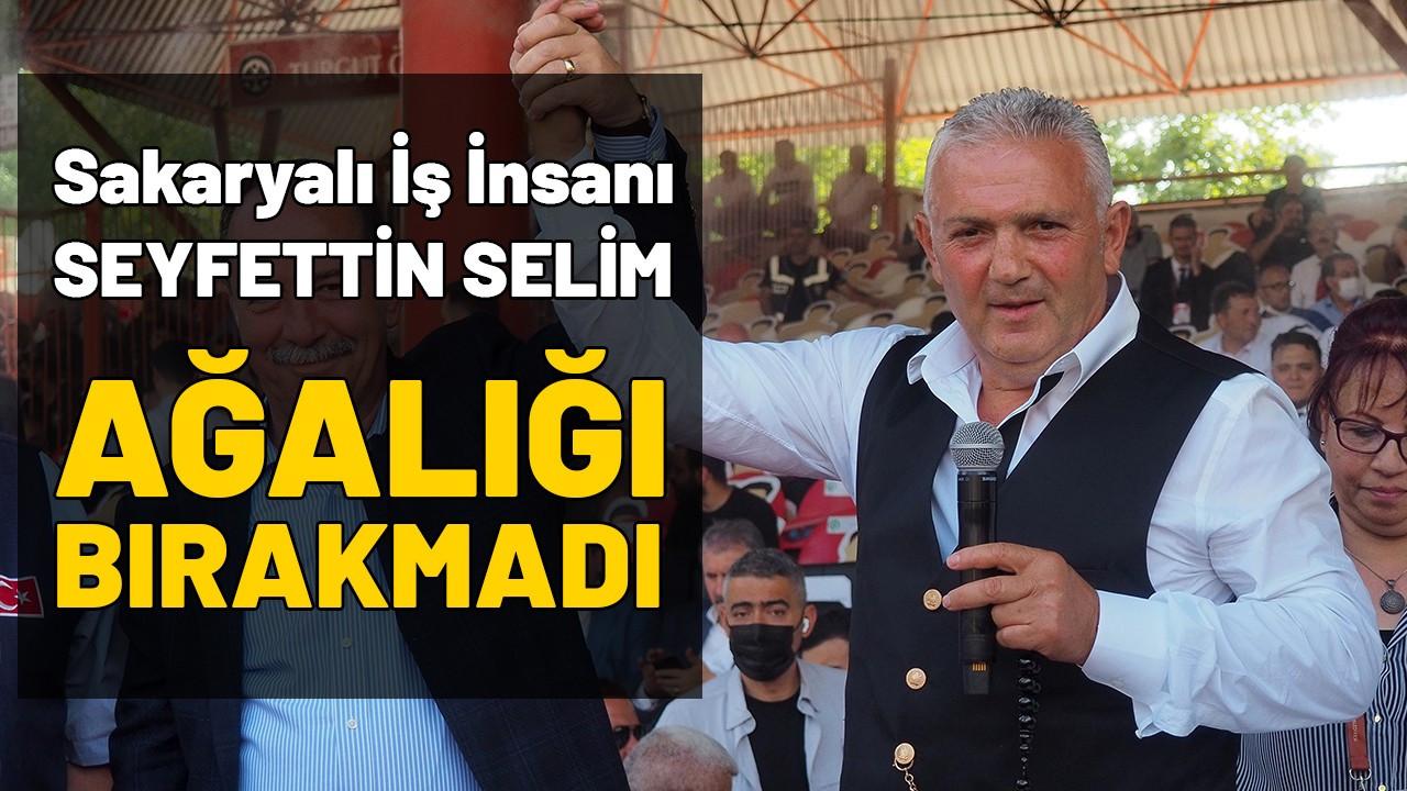 Kırkpınar'da Ağa 13. kez Sakaryalı Seyfettin Selimoğlu oldu