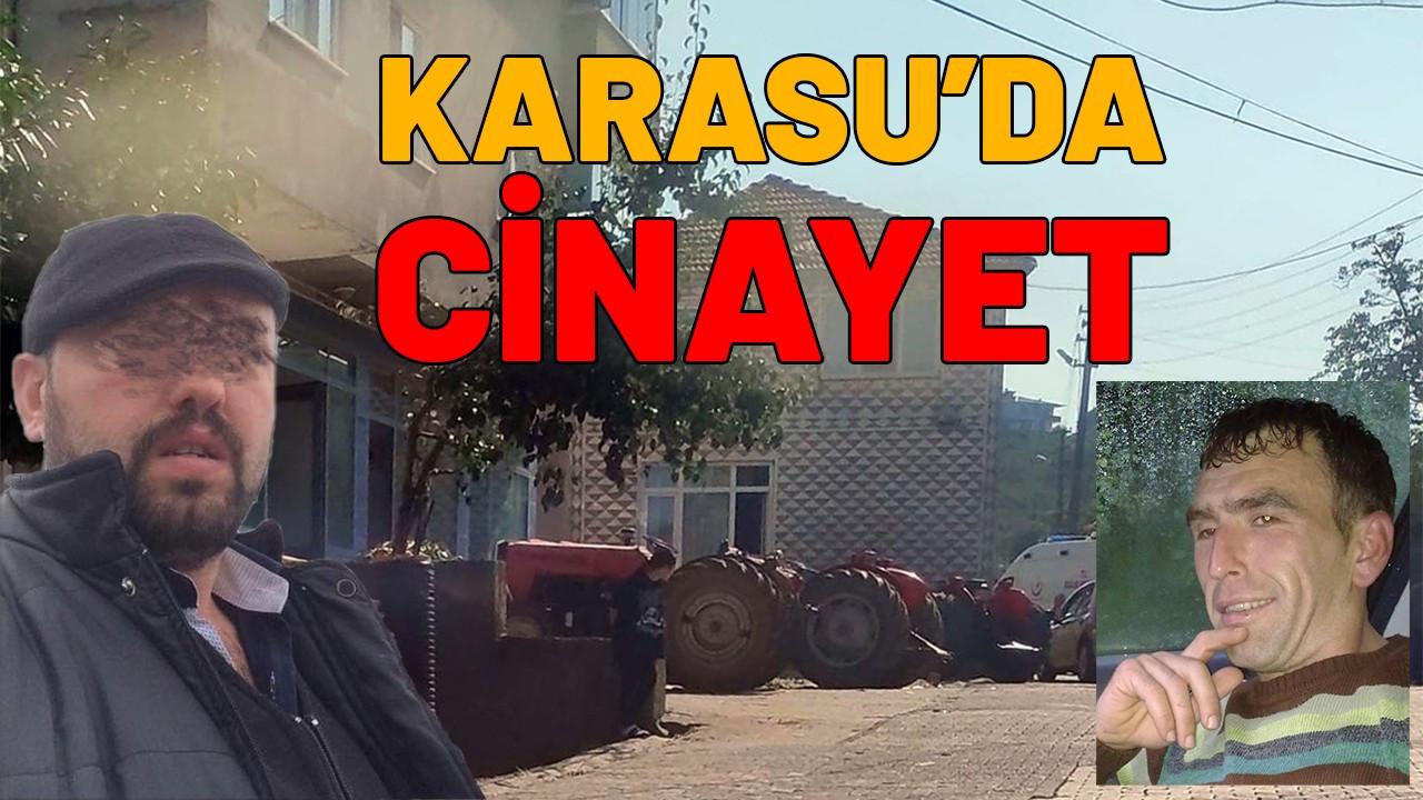 Karasu'da cinayet: kuzenini öldürdü