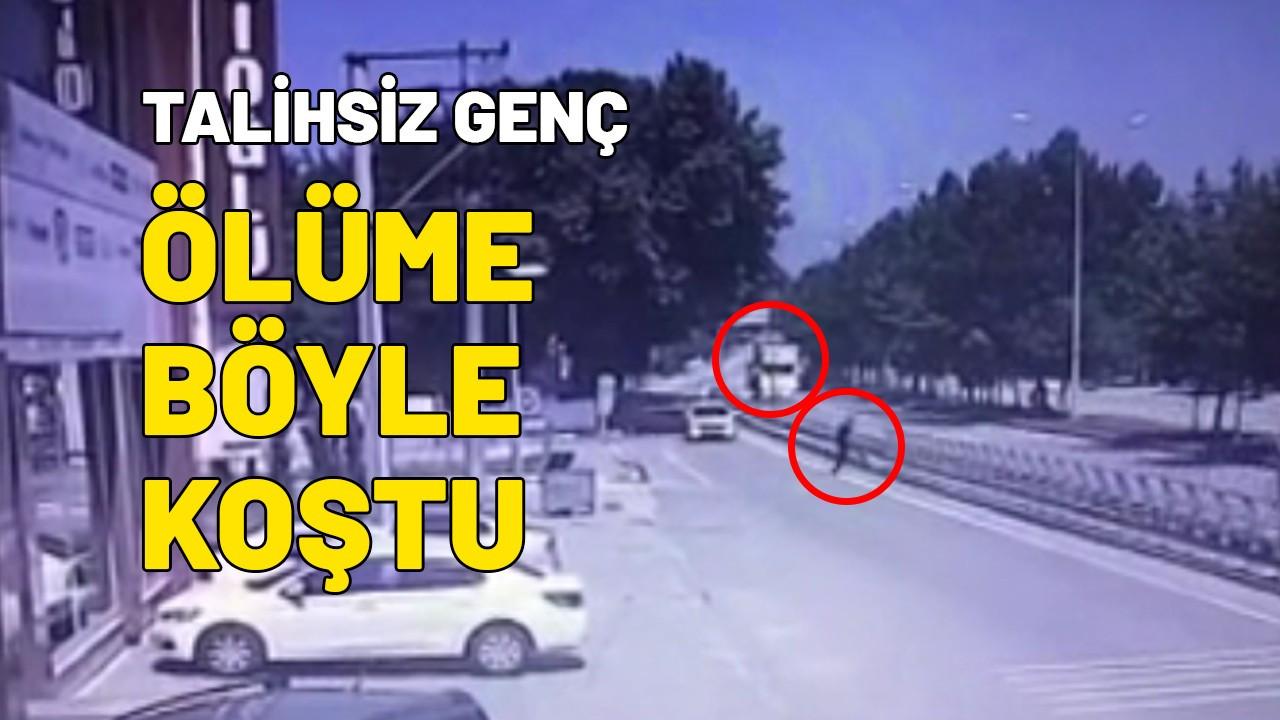 Pamukova'daki feci kaza kamerada