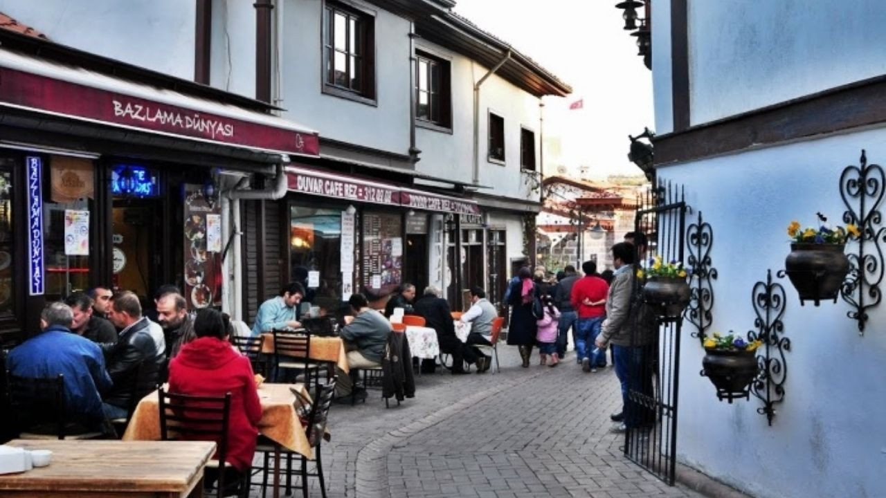Ankara'nın Tarihi Bölgesi: Hamamönü