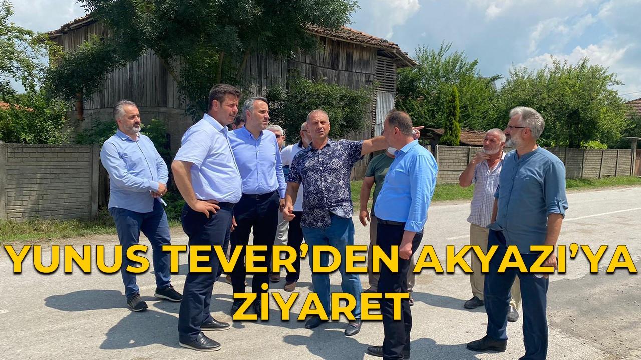 Yunus Tever'den Akyazı'ya ziyaret!