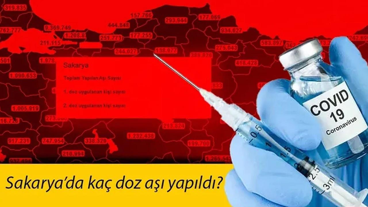 Sakarya'da kaç doz aşı yapıldı? İşte yanıtı