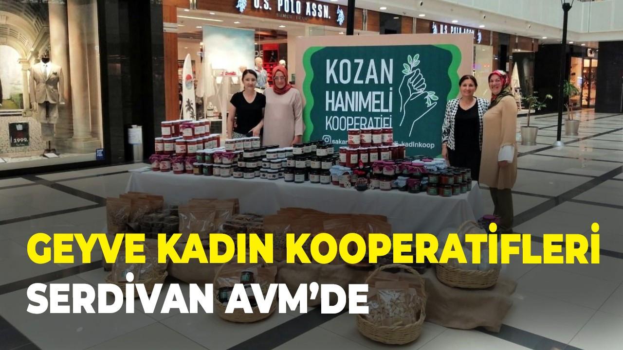 Geyve Kadın kooperatifleri Serdivan AVM'de