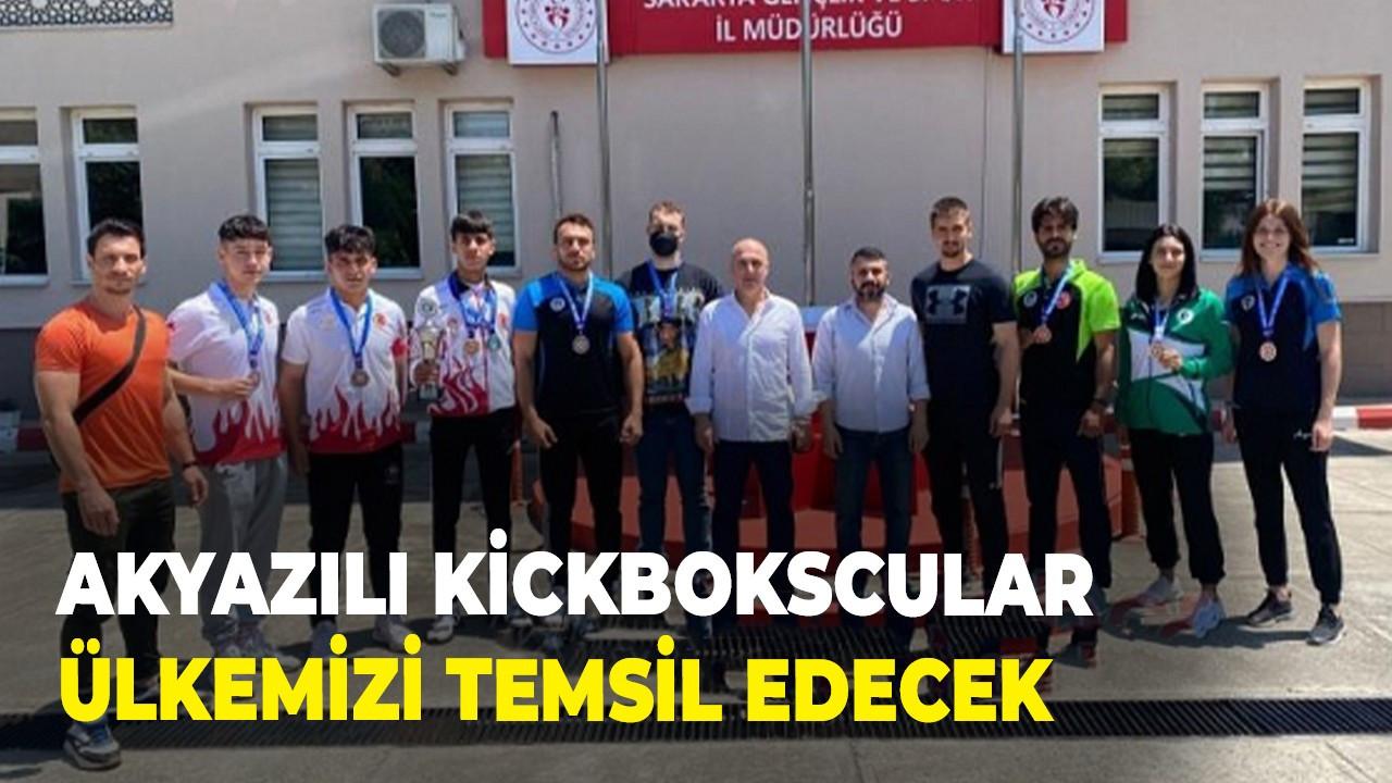 Akyazılı Kickbokscular ülkemizi temsil edecek