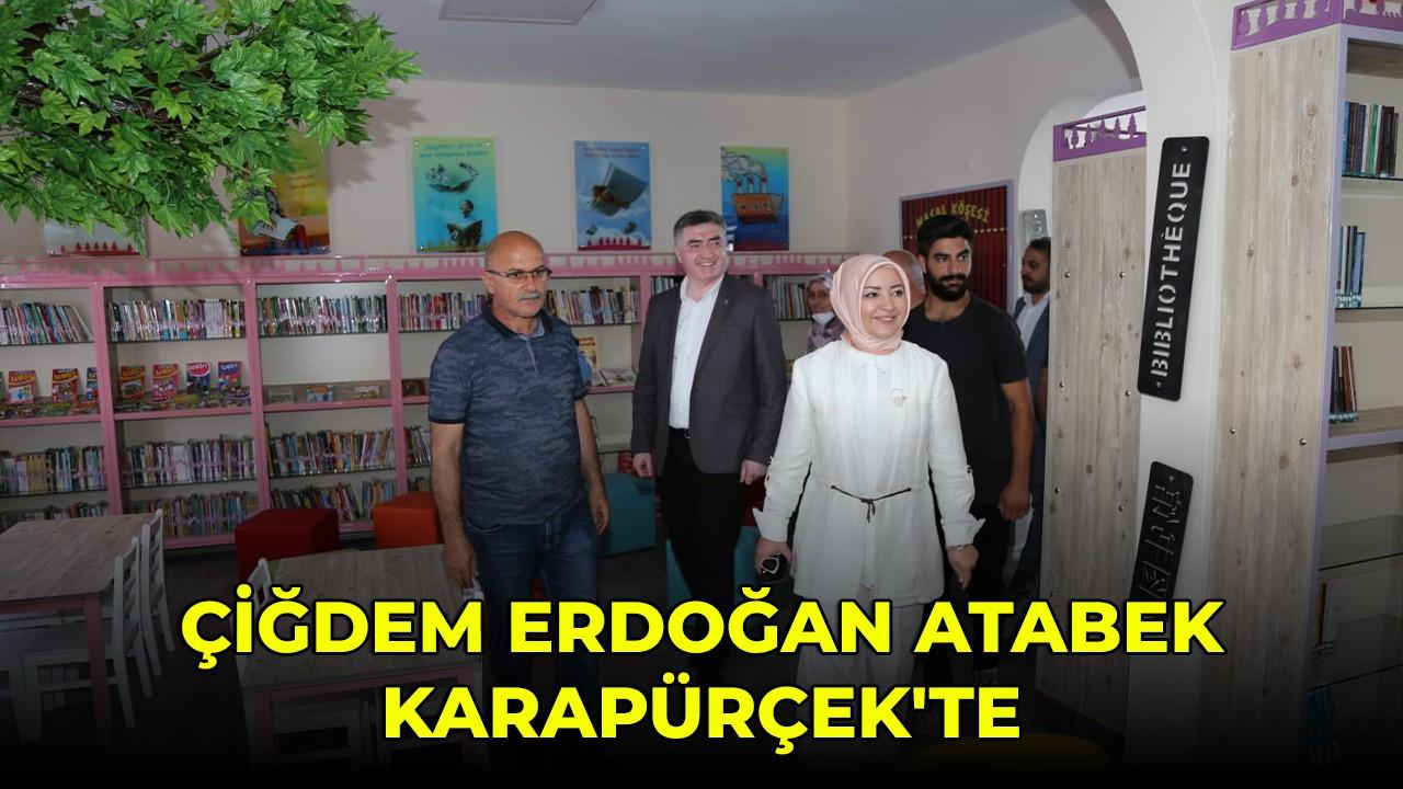 Çiğdem Erdoğan Atabek Karapürçek'te