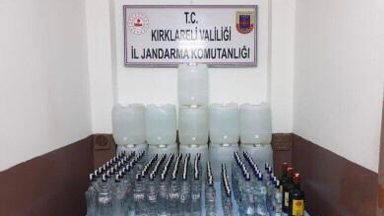 'Sahte içki' operasyonu: 3 gözaltı
