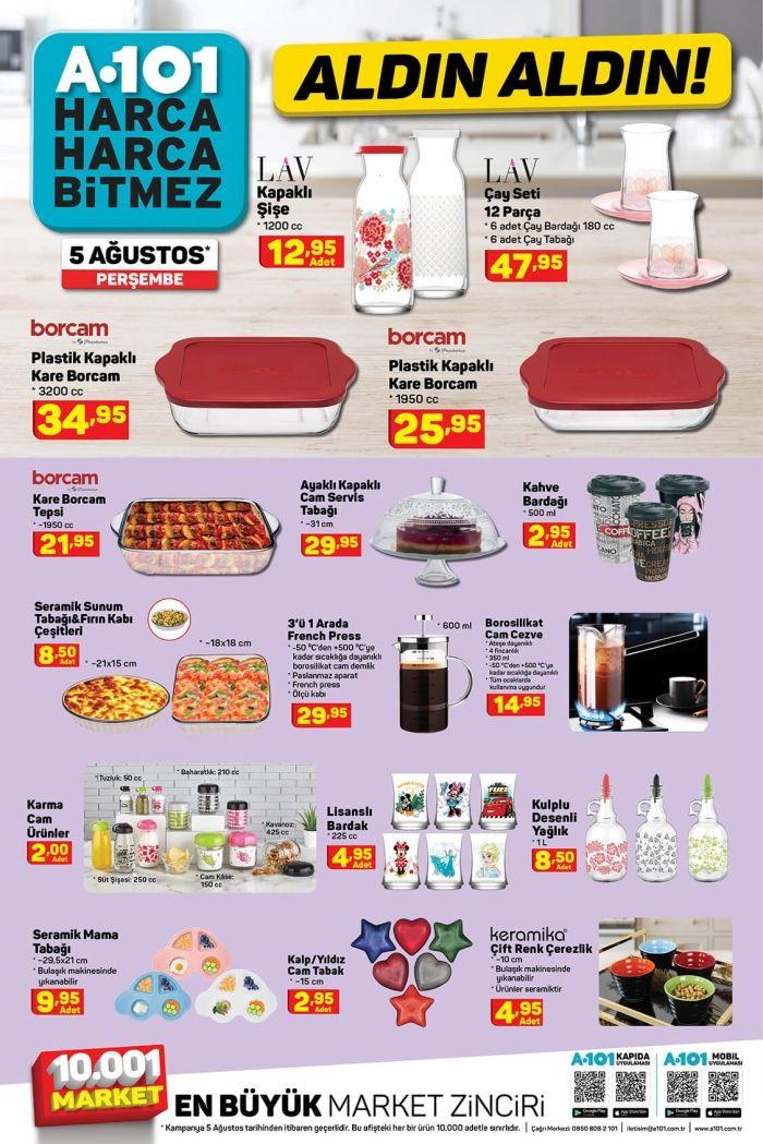 A101'de bu hafta neler var? 5 Ağustos aktüel ürünler kataloğu - Sayfa 1