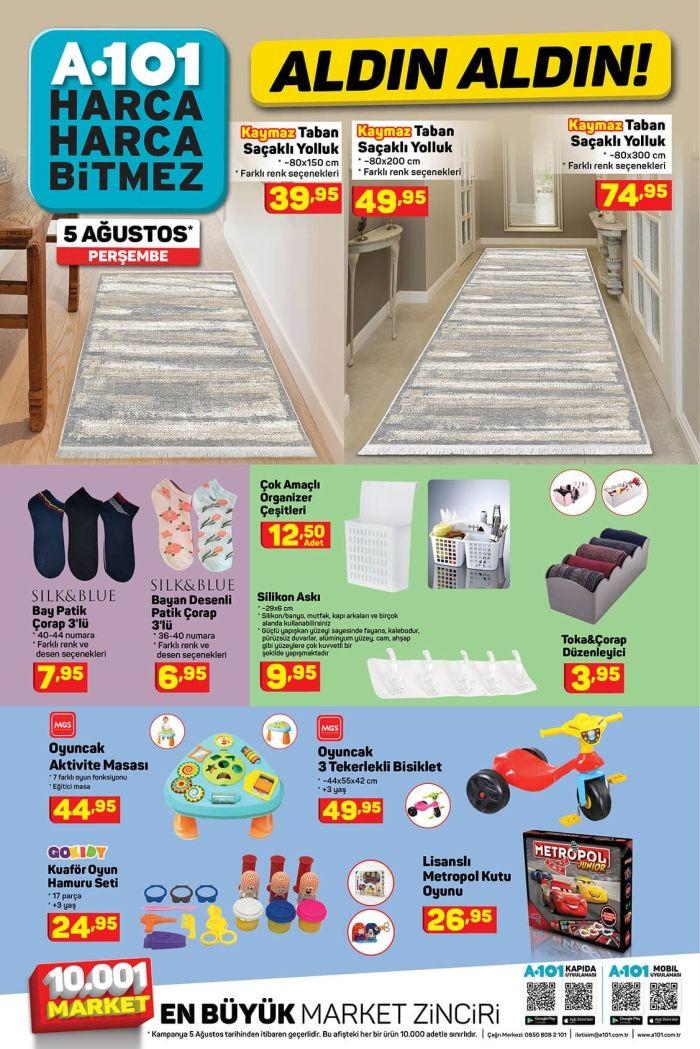 A101'de bu hafta neler var? 5 Ağustos aktüel ürünler kataloğu - Sayfa 2