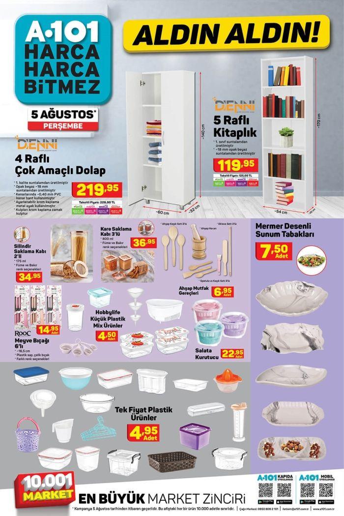 A101'de bu hafta neler var? 5 Ağustos aktüel ürünler kataloğu - Sayfa 3