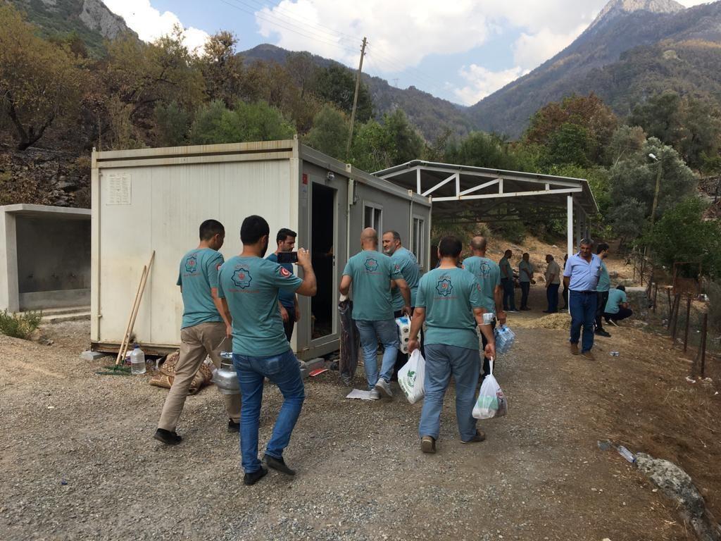 Diyanet Vakfı Sakarya Yardım Ekibi Antalya'ya ulaştı - Sayfa 3