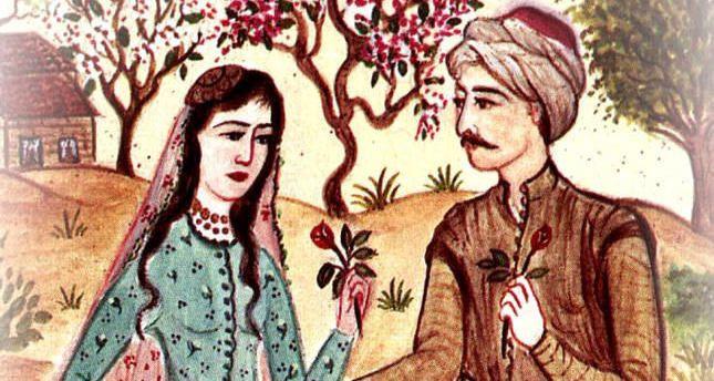 Geleneksel Türk Efsanesi: Leyla ile Mecnun - Sayfa 1