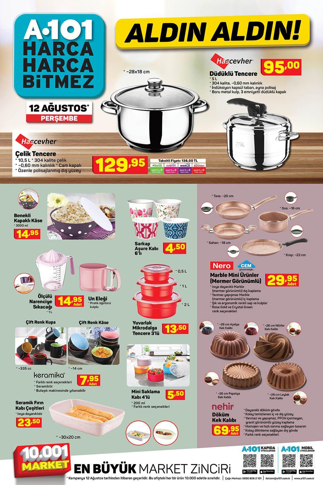 A101'de bu hafta neler var? 12 Ağustos aktüel ürünler kataloğu - Sayfa 4