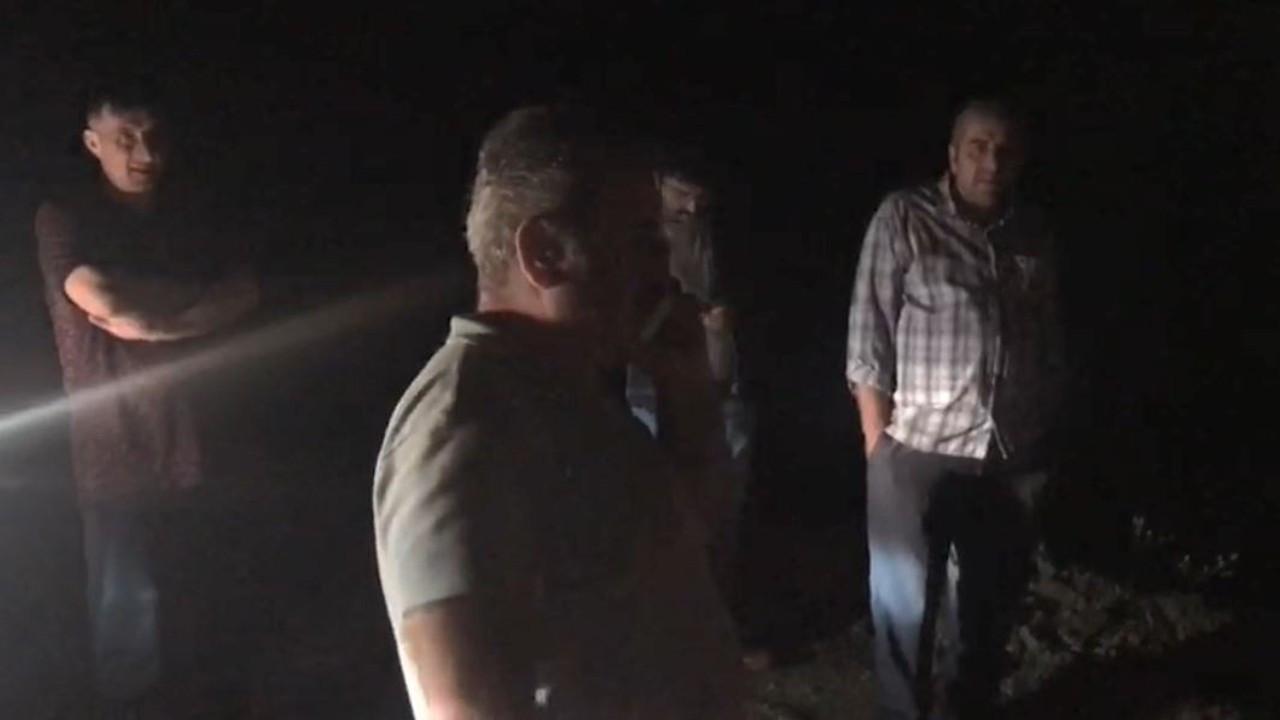 Artvin'de heyelan nedeniyle 4 köy ulaşıma kapandı kız istemeye giden aile mahsur kaldı