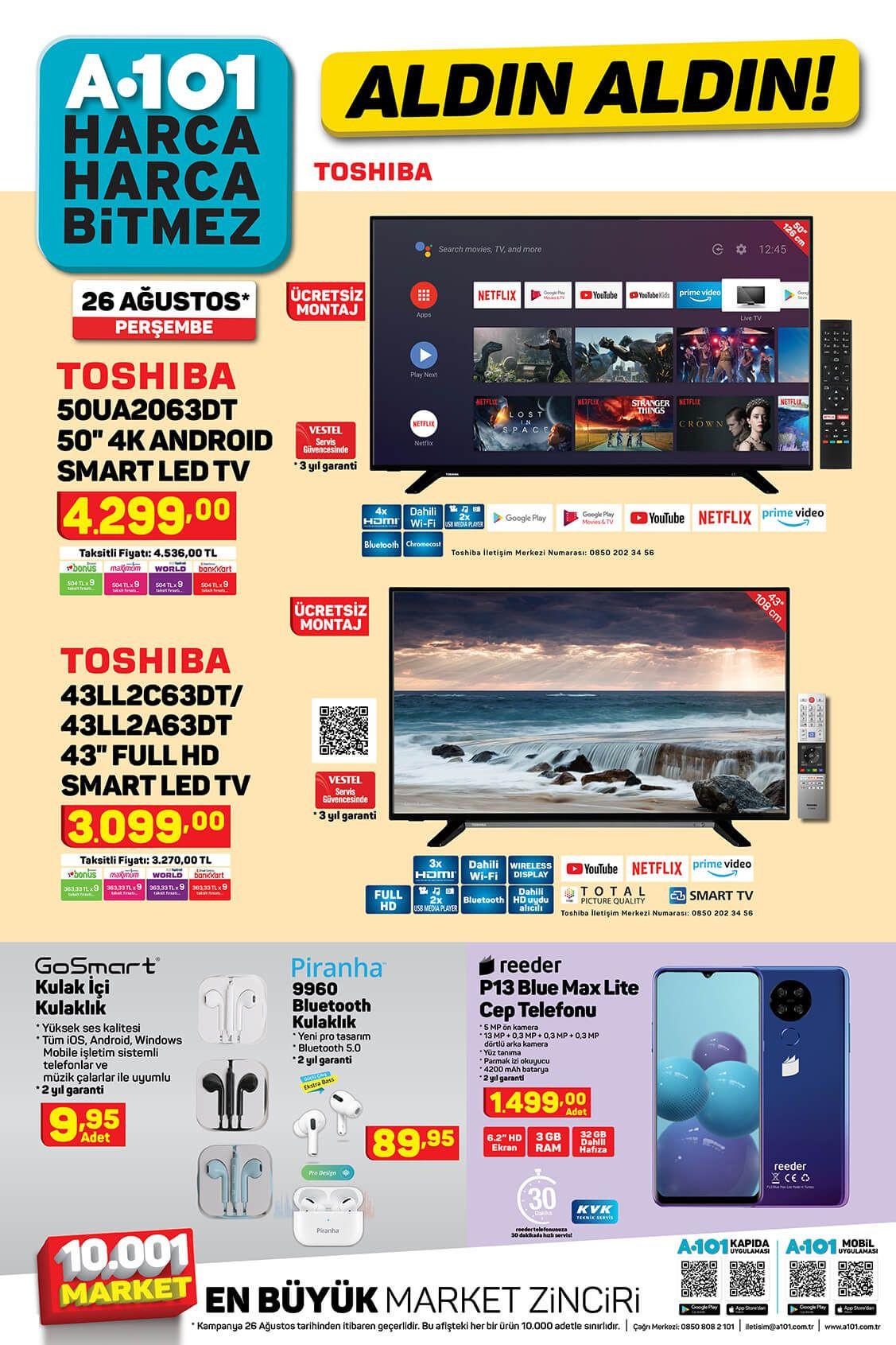 A101'de bu hafta neler var? 26 Ağustos aktüel ürünler kataloğu - Sayfa 1