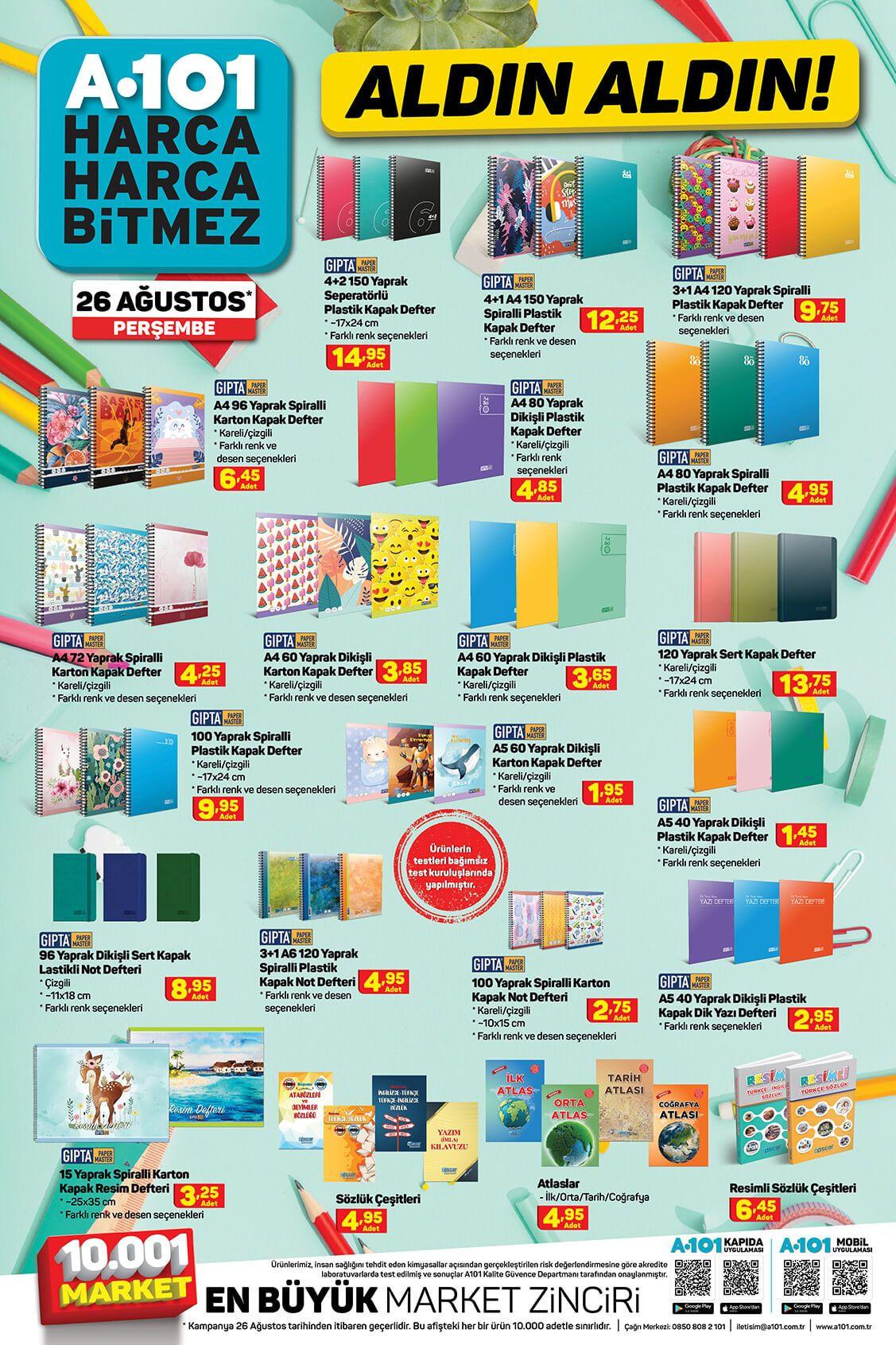 A101'de bu hafta neler var? 26 Ağustos aktüel ürünler kataloğu - Sayfa 3