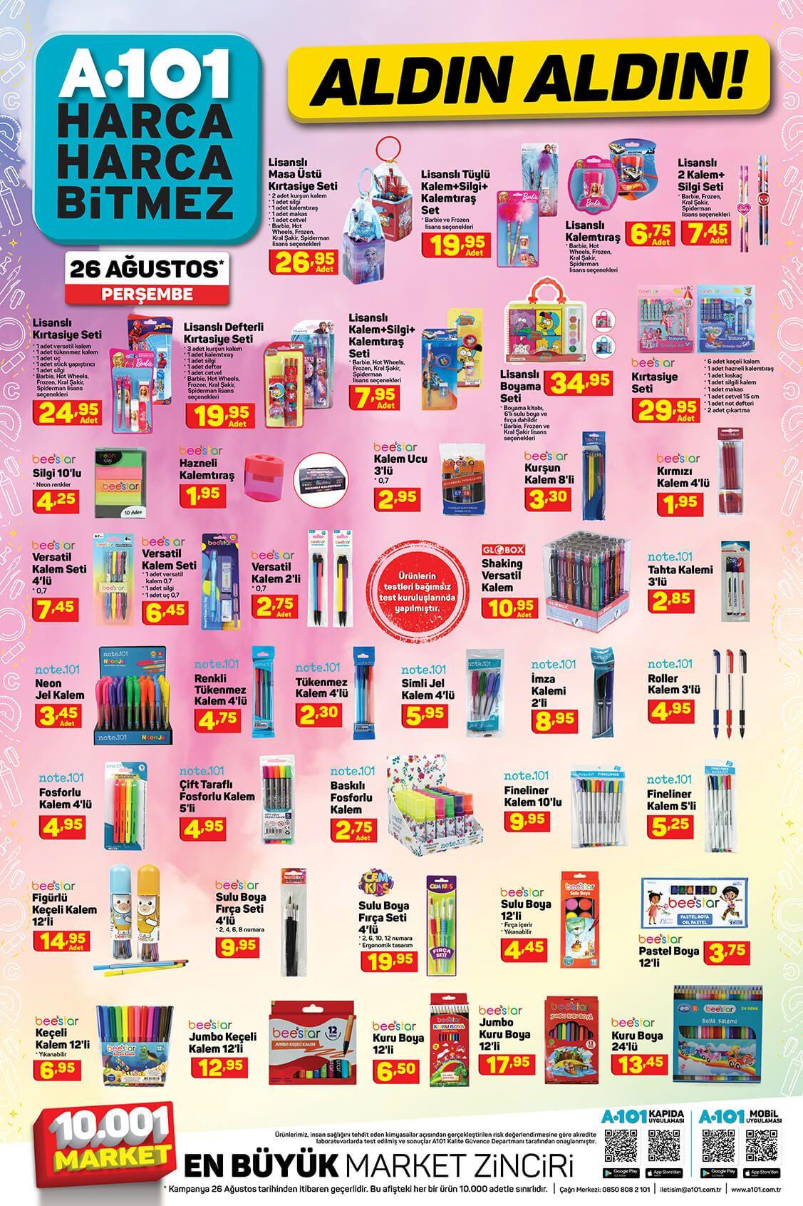 A101'de bu hafta neler var? 26 Ağustos aktüel ürünler kataloğu - Sayfa 4