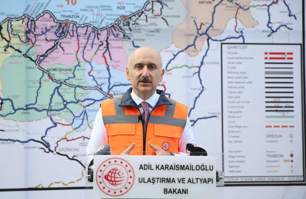 Dünyanın üçüncü en uzun çift tüplü kara yolu tüneli Zigana'da sona yaklaşıldı - Sayfa 1