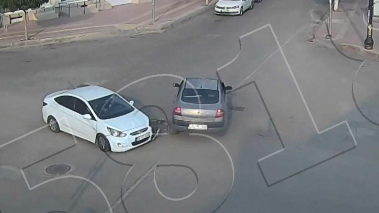 Siirt'teki kazalar mobese kameralarına yansıdı