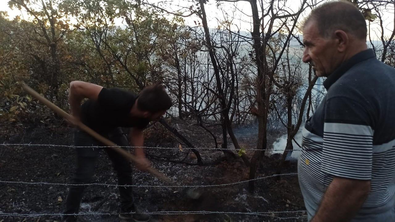 O yangın söndürüldü