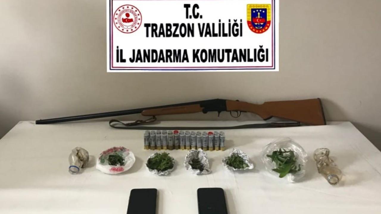 Trabzon'da jandarma uyuşturucuya geçit vermiyor