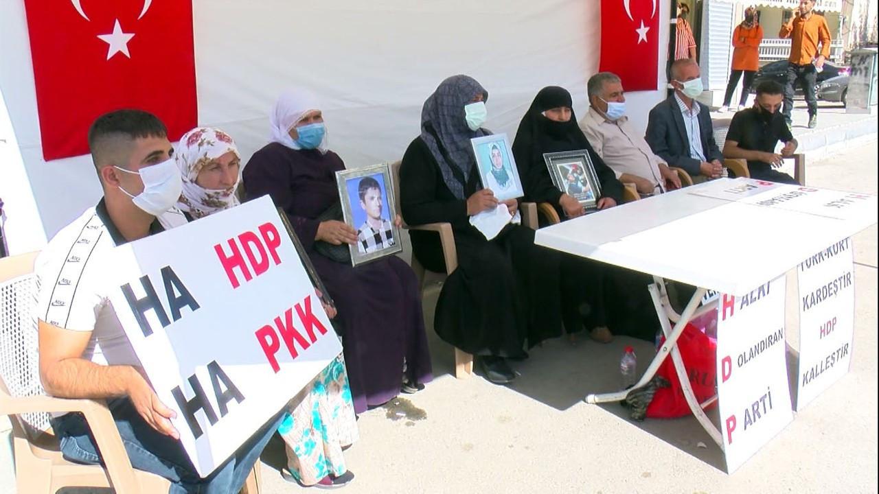 Muş'ta, HDP önünde eylem yapan aile sayısı 9'a çıktı