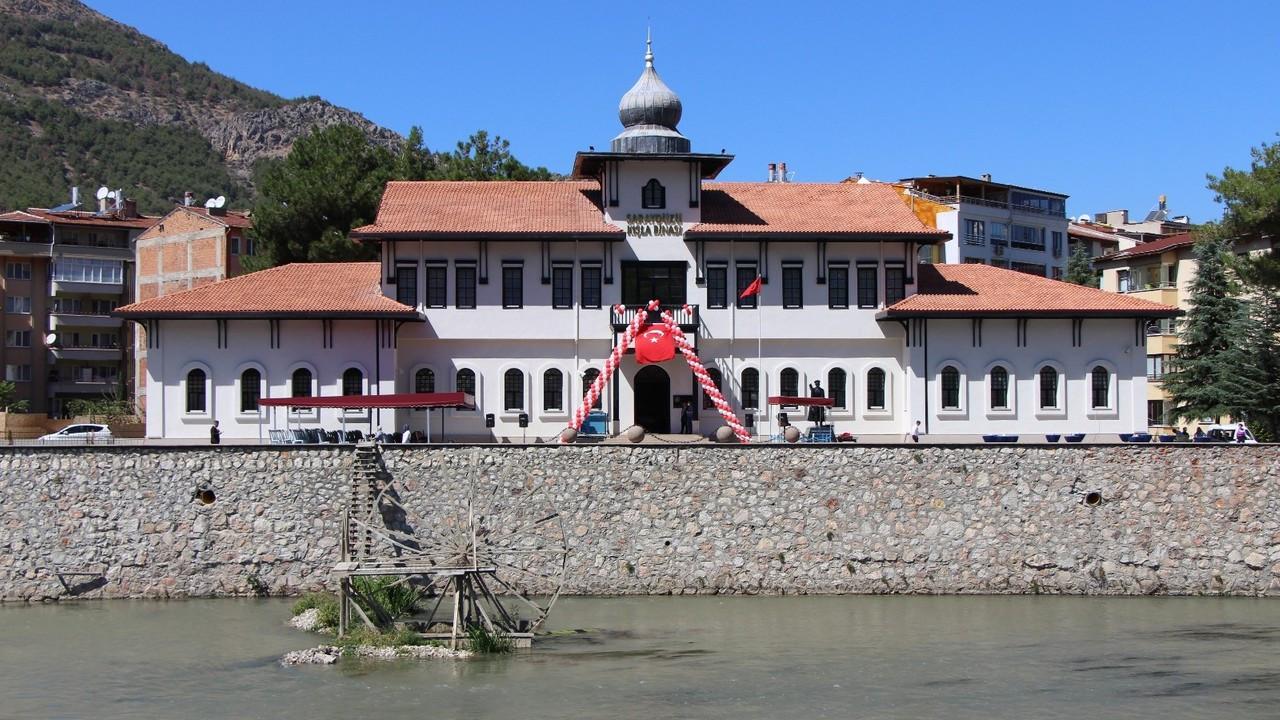 Amasya'daki Saraydüzü Kışla Binası kütüphane oldu