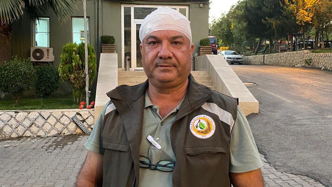 Mardin'de orman görevlilerine saldırı