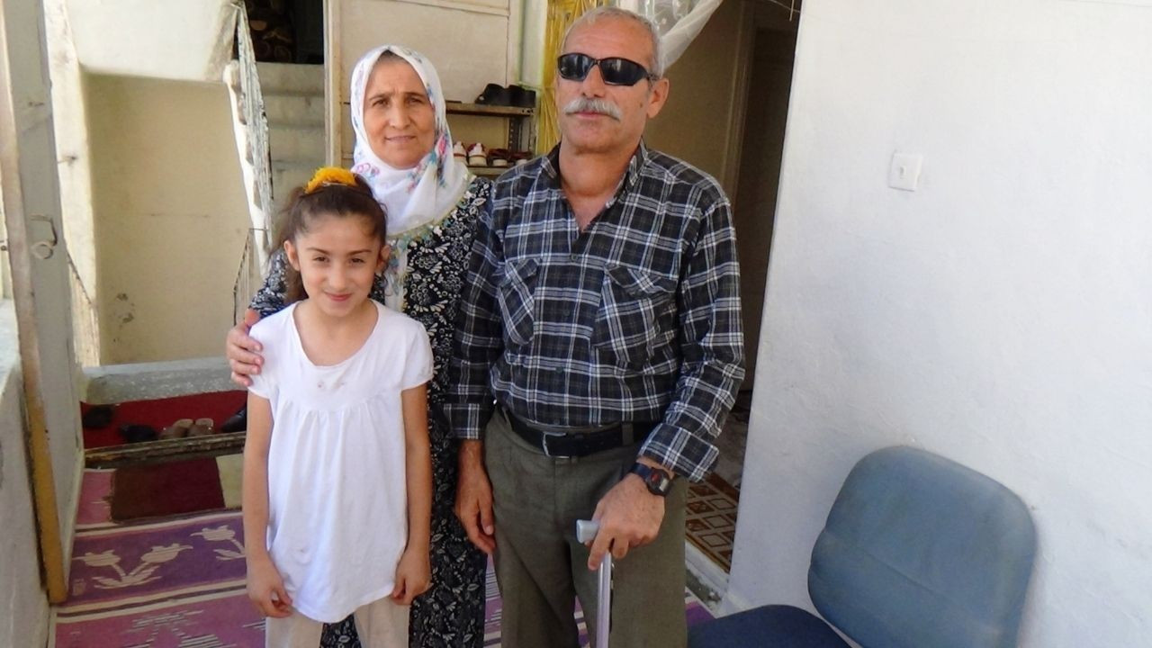 İki gözünü ve bir ayağını kaybeden kahraman gazi 10 çocuk büyüttü