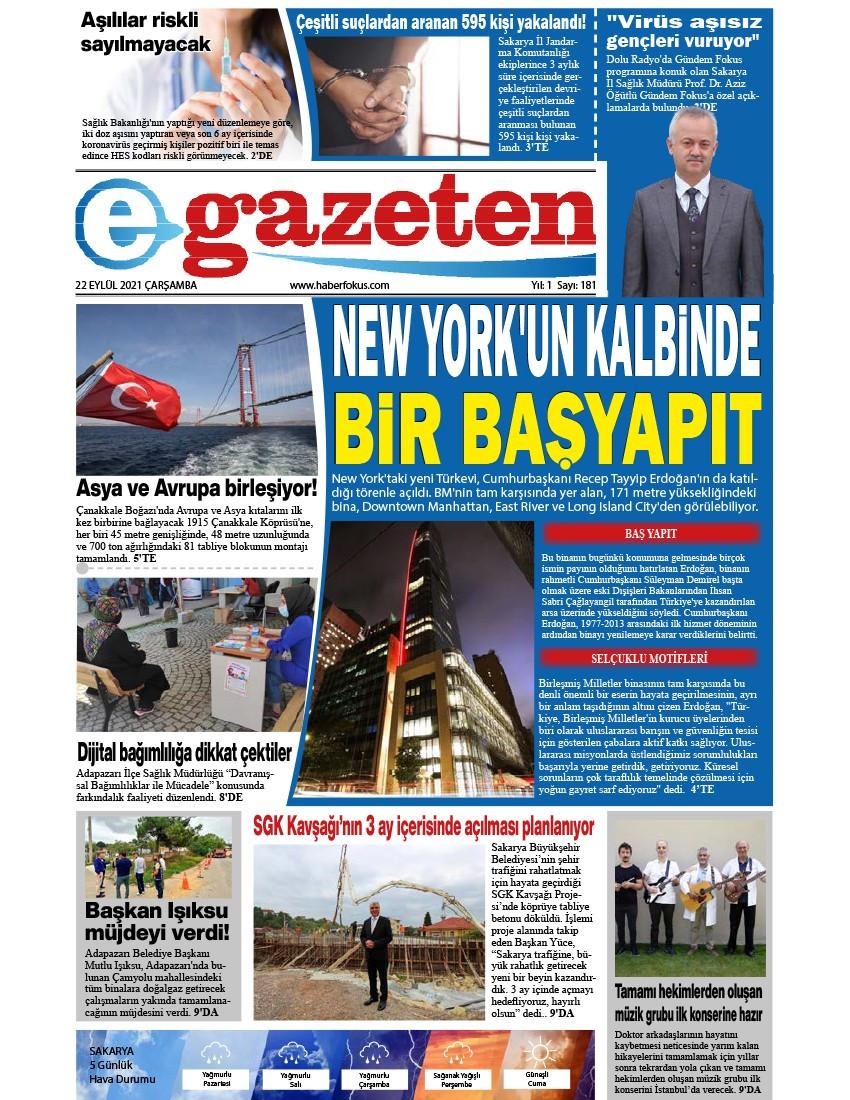 E-Gazeten 2021-09-22