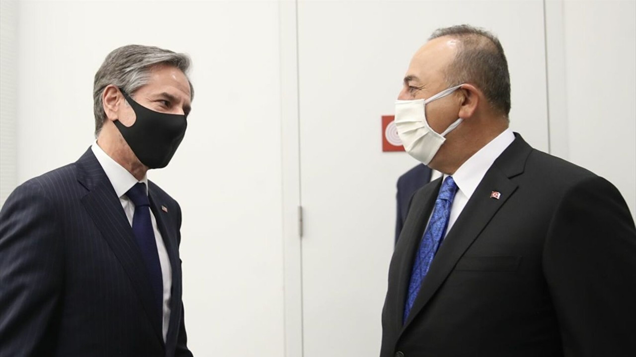 Dışişleri Bakanı Çavuşoğlu, ABD Dışişleri Bakanı ile bir araya geldi